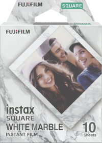 Пленка для Instax SQUARE White Marble (10 шт.)